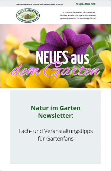 Willkommen Auf Natur Im Garten